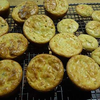 Recipe Zucchini and bacon mini quiches by Maree78 - Recipe of category Baking - savoury