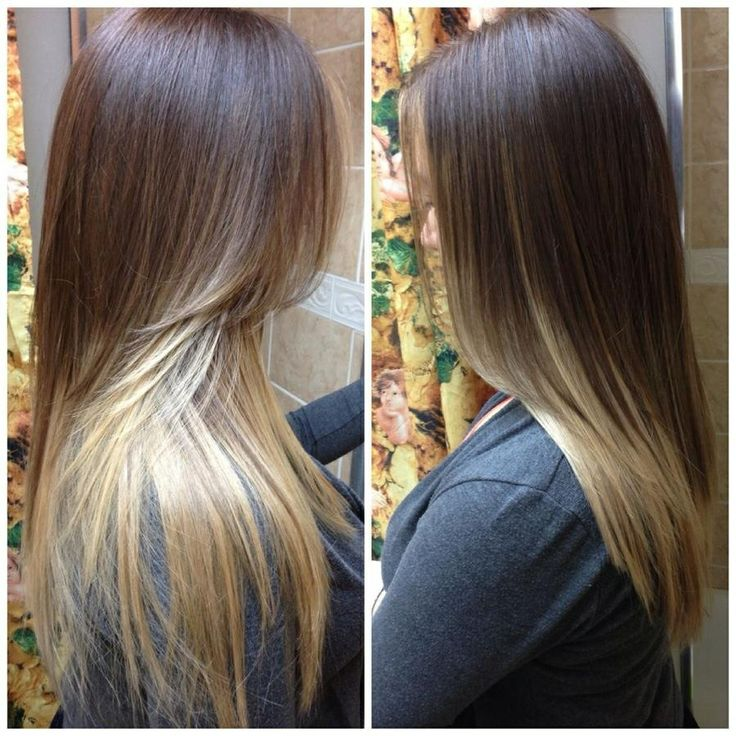 Brown and blonde ombre hair ombre hair pinterest - Blond braun ombre ...