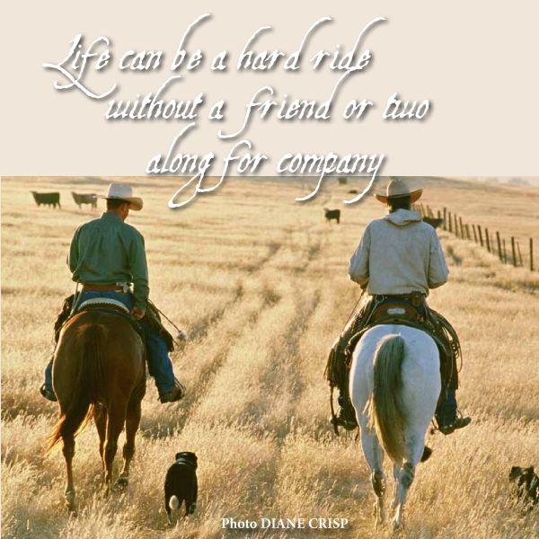 cowboy friendship quotes