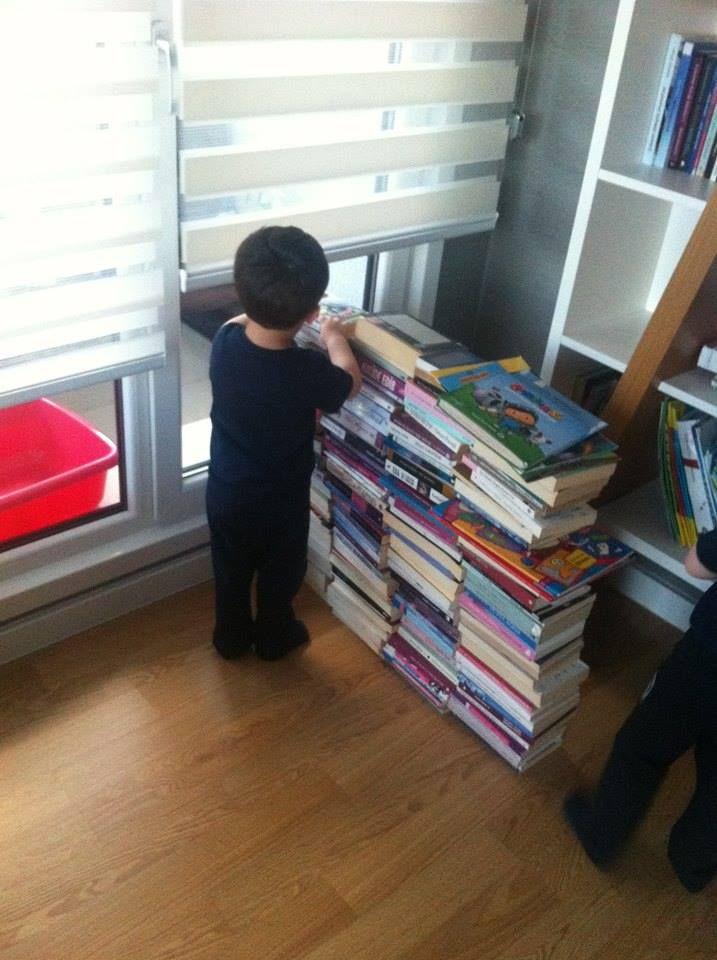 Kitaplara ne kadar yakın, o kadar iyi...