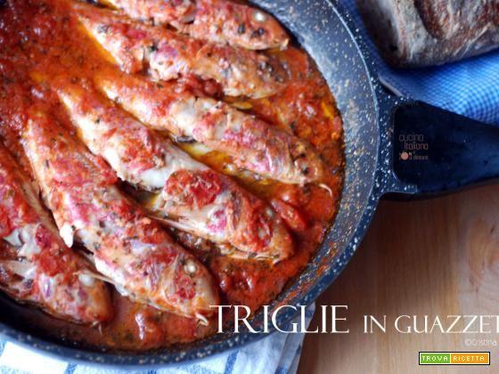 Triglie di scoglio in guazzetto  #ricette #food #recipes