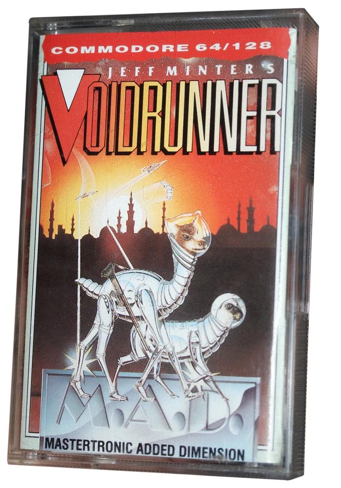 Jeff Minter's Voidrunner for C64 #C64 #Commodore #64 #Retro #Gaming #Voidrunner #Jeff #Minter