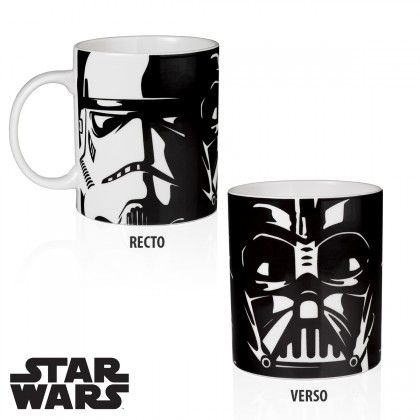 Mug Star Wars Force Obscure - Dark Vador & Stormtrooper. Kas Design, Distributeurs de produits originaux