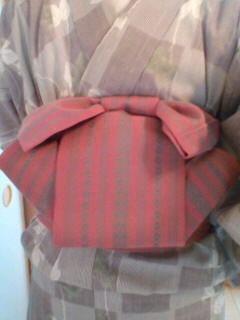 りぼん太鼓の結び方(半巾帯バージョン)|着物練習帖