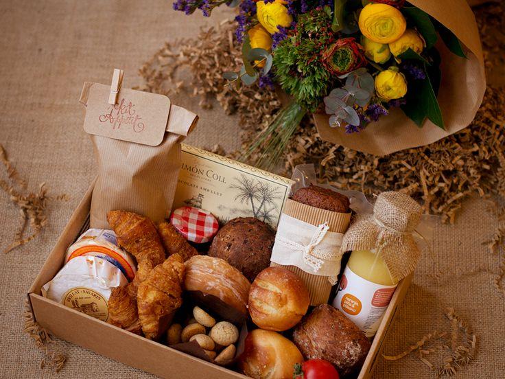 Qué mejor manera de comenzar el día que con un desayuno sorpresa enviado por una persona especial :)