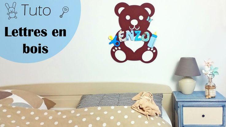 les 25 meilleures id es de la cat gorie d corer des lettres en bois sur pinterest d corer des. Black Bedroom Furniture Sets. Home Design Ideas