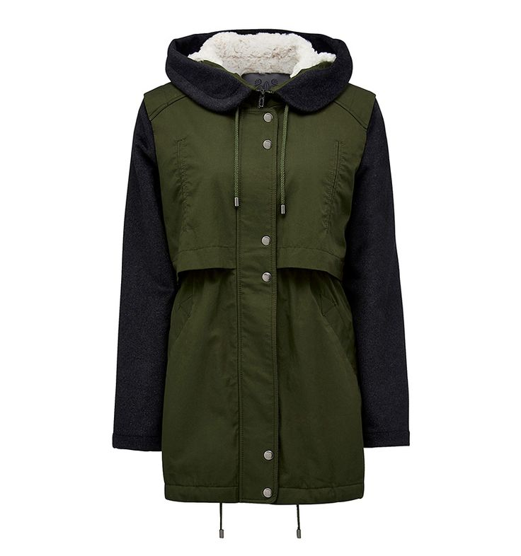 Forever New - Allie Mixed Textile Parka