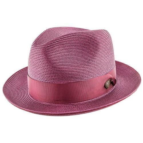 daca3faeef4 Rosebud - Dobbs Straw Fedora Hat - DSRBUD in 2019 | Women - Fedora Hats |  Hats, Straw fedora, Fedora hat