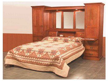 mission pier bed suite 4362 brandenberry amish furniture bedroom wall