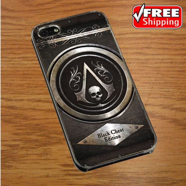 Assassins Creed Black Flag logo IPHONE 4 | 4S COVER CASE