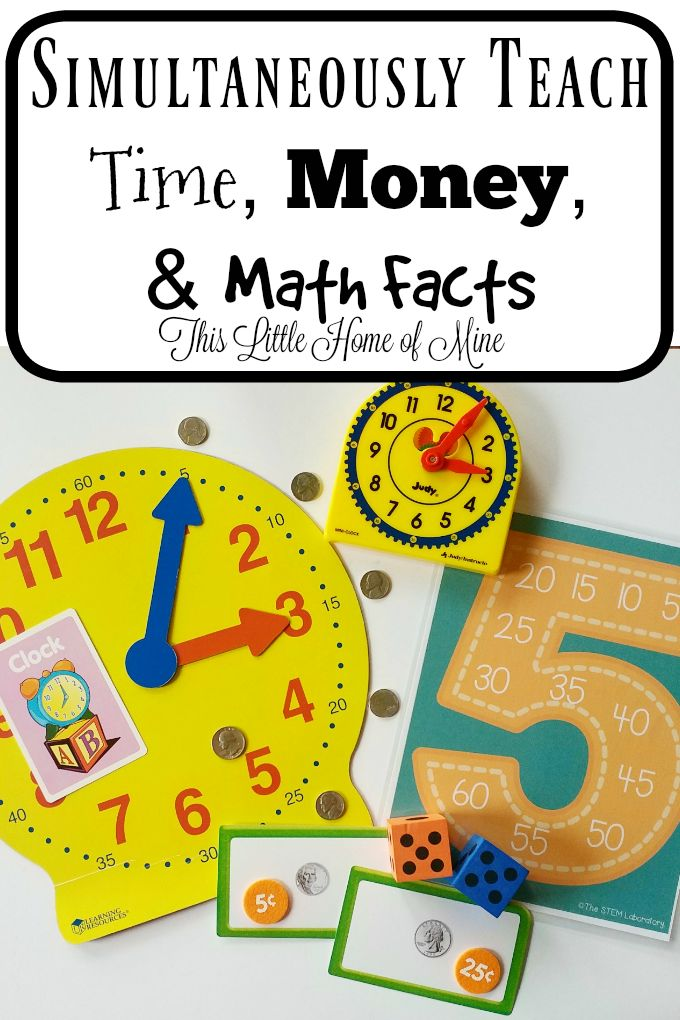 Simultaneously Teach Teach, Money, and Math Facts by This Little Home of Mine
