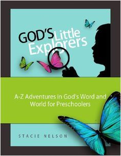 FREE Christian preschool curriculum - God's Little Explorers!  A hands-on, memory-making at-home preschool adventure for ages 2-5! #preschool #christian