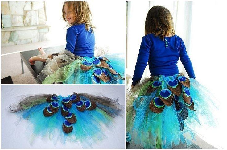 детский костюм павлина