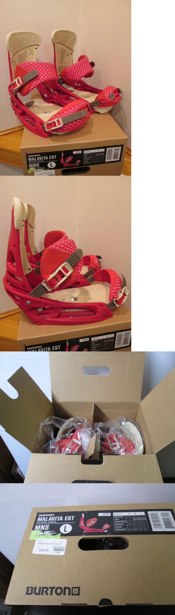 Bindings 21248: Burton Malavita Est Snowboard Bindings New In Box! Large -> BUY IT NOW ONLY: $159.0 on eBay!