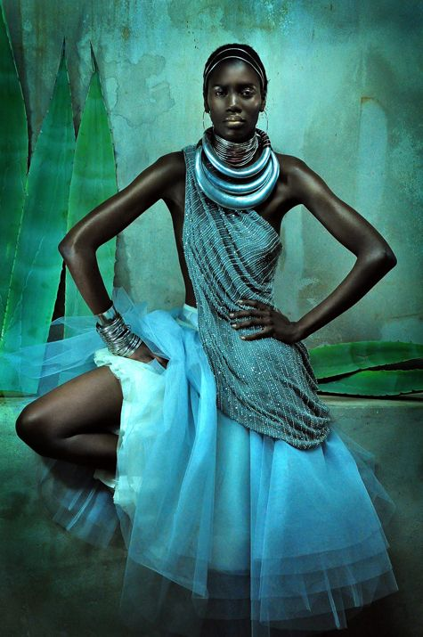 pinterest.com/fra411 #black #beauty - African Fasion Awards promo shot by Krisjan Rossouw