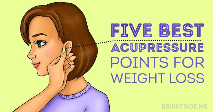 Learn basic acupressure techniques tostimulate your digestion and control your appetite.