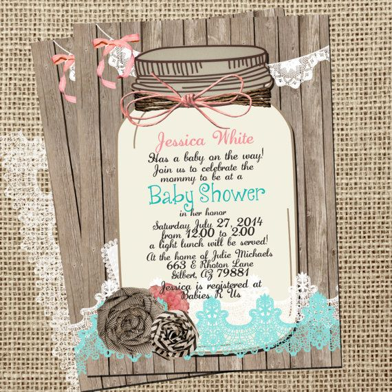 best 25+ lace baby shower ideas on pinterest | burlap baby, pearl, Baby shower invitations