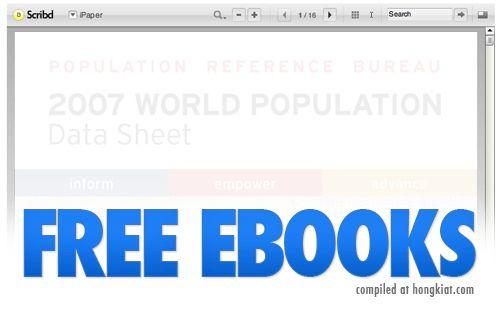 25 sites of free ebooks