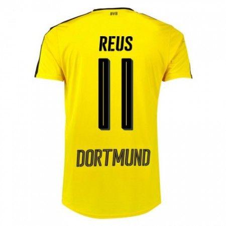 BVB Borussia Dortmund 16-17 Marco #Reus 11 Hemmatröja Kortärmad,259,28KR,shirtshopservice@gmail.com