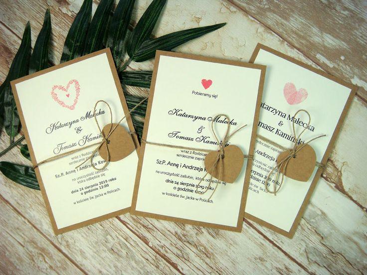 zaproszenia ślubne jednokartkowe dwustronne D3