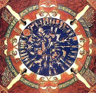 De seksogtredive dekaner: Den runde zodiak i Dendara-templet. En af de ting, der adskiller den egyptiske religion fra alle andre, er, at egypterne konsekvent var orienteret mod himlen snarere end mod Jorden. Man kan se, hvordan den hellige astronomi var den hellige videnskabs supplerende sprog, og desuden havde man naturligvis hieroglyfskriften. Zodiaken – selv om den adskiller sig fra den måde, den bruges i nutiden − har spillet en særdeles vigtig rolle i både de åndelige og praktiske…