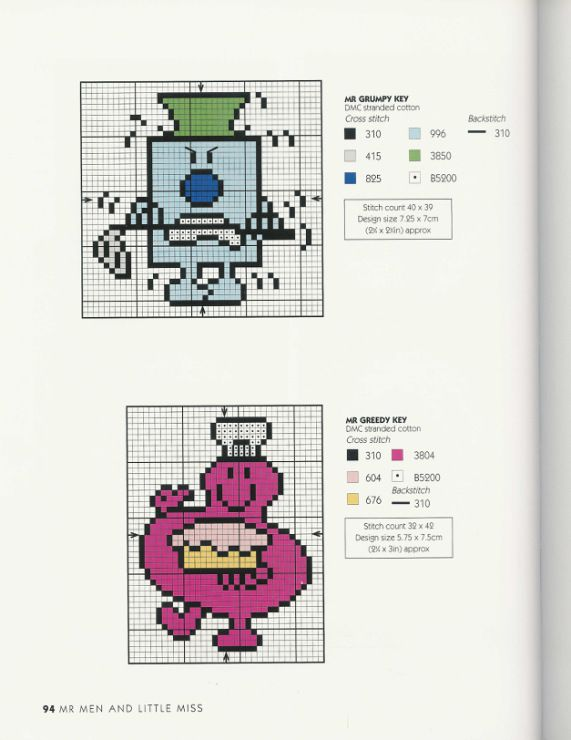 Gallery.ru / Фото #91 - Adele Welsby`s - Cross Stitch Characters - anfisa1