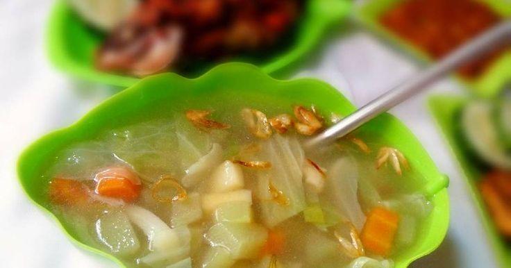 Resep Sup Sayuran favorit.
