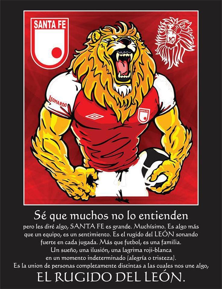 El leon es lo más grande de mi vida! Te amo Santa Fe!!