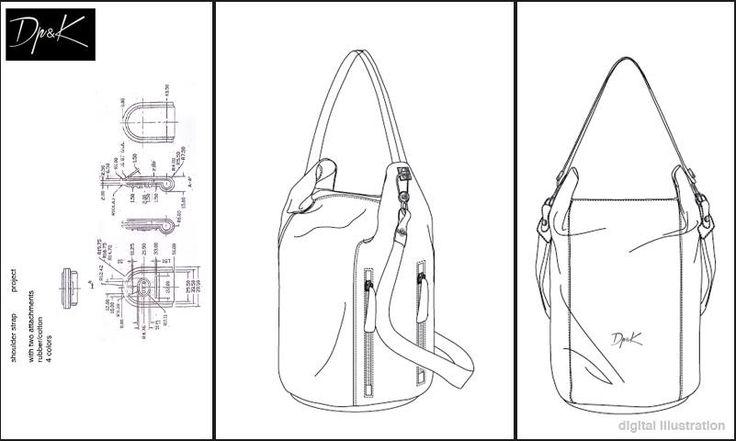 Dp&K's project_digital illustration #sketch #techpack #design