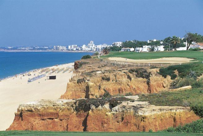 Diari di viaggio: campi da golf del mondo. La spiaggia e il campo da golf di Vale do Lobo