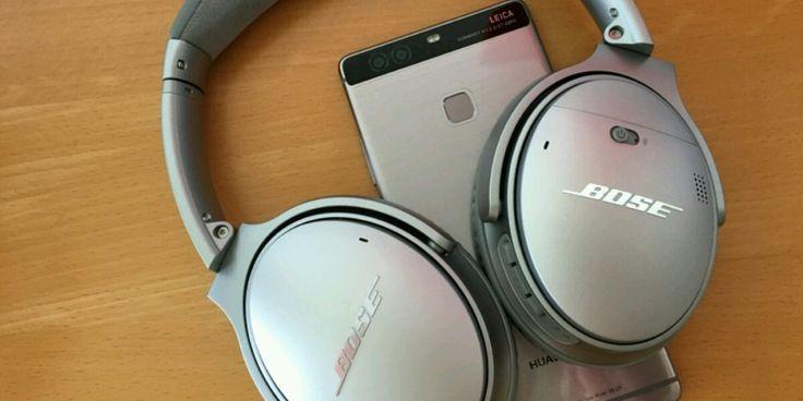 Bose QC 35 Wireless Hörgenuss mit dem Huawei P9 Plus #Test #Testberichte #Zubehör