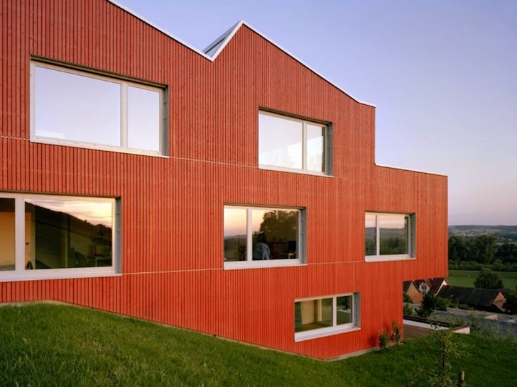 Spillmann Echsle Architekten Gave Iconic Swiss Design A Contemporary Twist  With A Sawtooth Roof On The