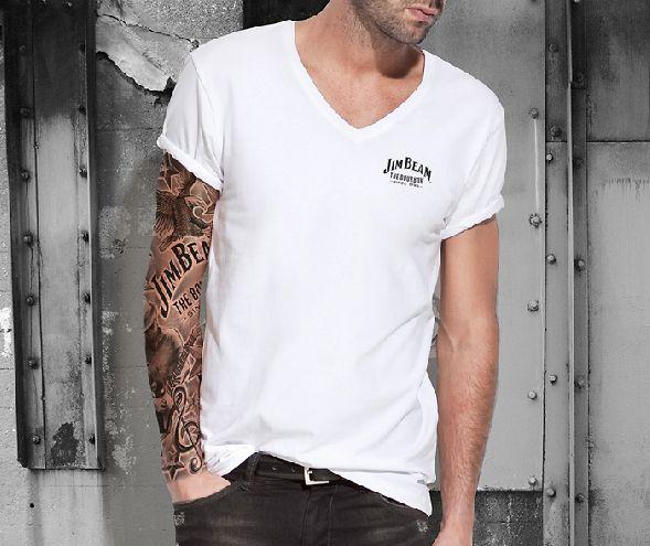 Jim Beam Concept Illustration Tattoo Sleeve Sleeve