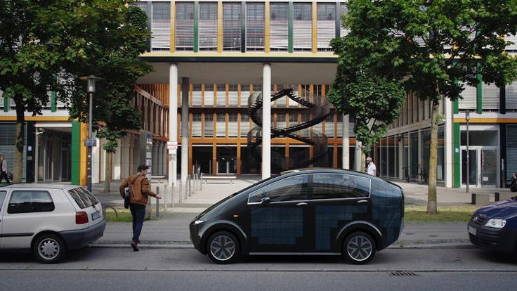 ちょっとした移動なら太陽光におまかせ!ドイツ発、ソーラー充電で走れる電気自動車「Sion」   greenz.jp   ほしい未来は、つくろう。