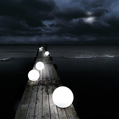 Glow-in-the-Dark Orbs (http://blog.hgtv.com/design/2013/07/26/daily-delight-glow-in-the-dark-orbs/?soc=pinterest)