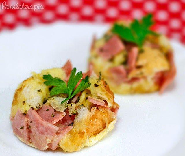 PANELATERAPIA - Blog de Culinária, Gastronomia e Receitas: Bolinho Pizza (de Micro-ondas)