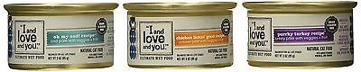 I and Love and You All Natural Canned Cat & Dog Food Variety Pack