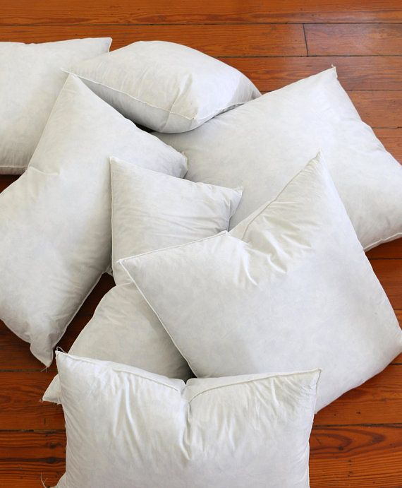 Down Pillow Inserts Quality Pillow Inserts Feather Pillow