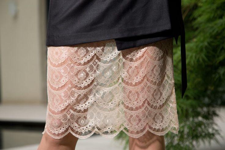 #Fashion #LureStudio #IleanaBadiu #Super40 #Lace #Skirt