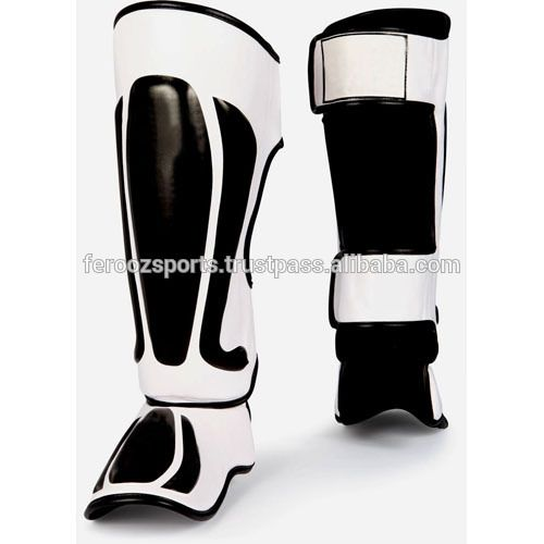 Top Model Muay Thai Shin Pads Shin Guards Pro Genuine Leather/Artificial Leather