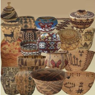 baskets of native americans | Native American Baskets
