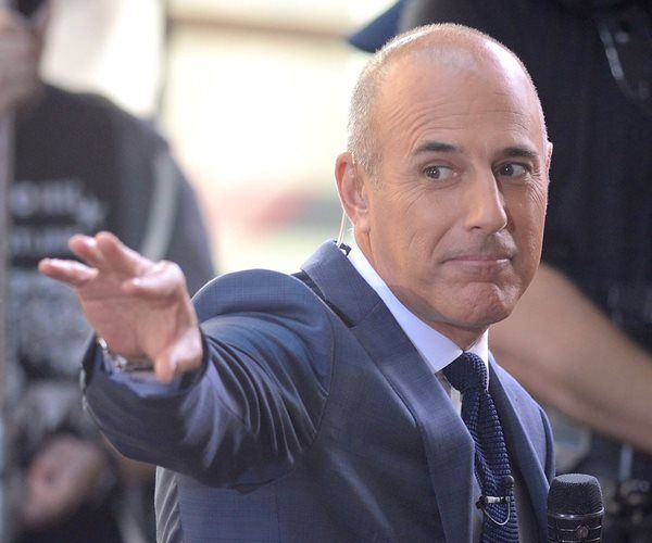 """NBC News says longtime """"Today"""" show host Matt Lauer has been fired for """"inappropriate sexual behavior."""" Lauer's co-anchor Savannah Guthrie made the announcement at the top of Wednesday's """"Today"""" show."""