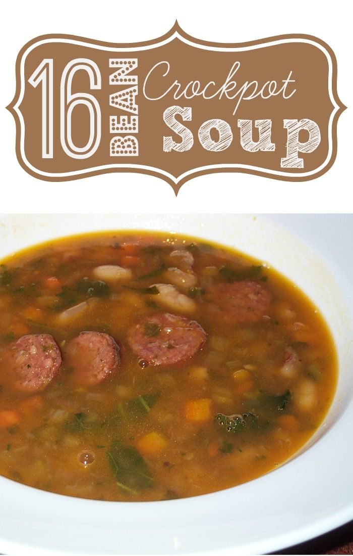 16 Bean Soup - Crockpot Recipe - Freetail Therapy
