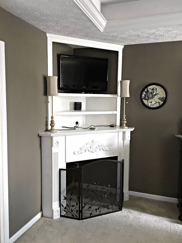 54 best faux fireplace piano remake shelves mantels images on