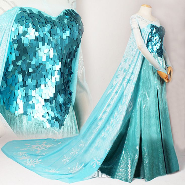 Elsa Princess Cosplay Costume