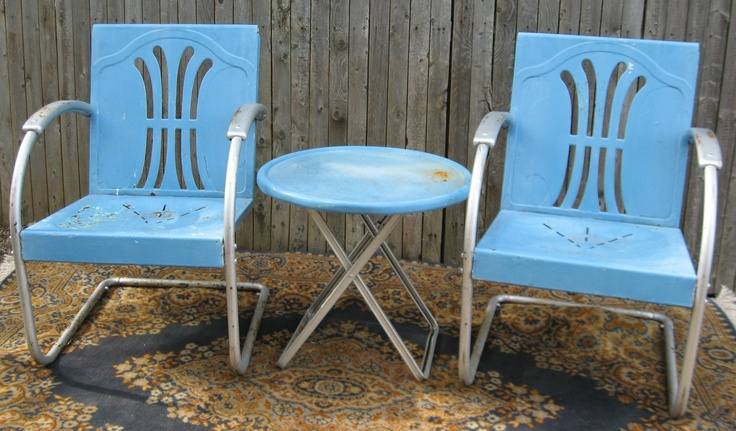 45 Best Retro Metal Motel Furniture Images On Pinterest