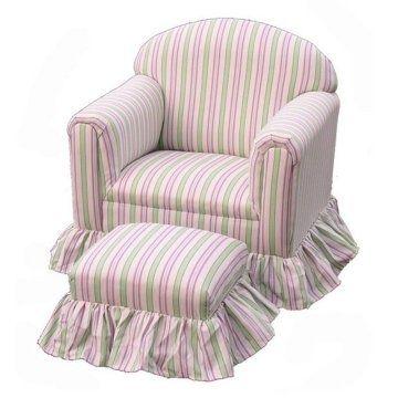 Cute striped girls chair