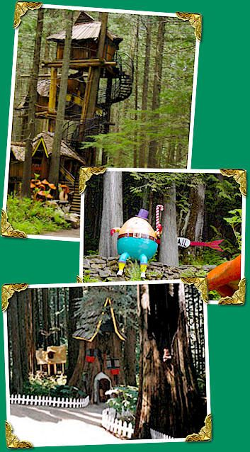 the enchanted forest in revelstoke b.c. love this place