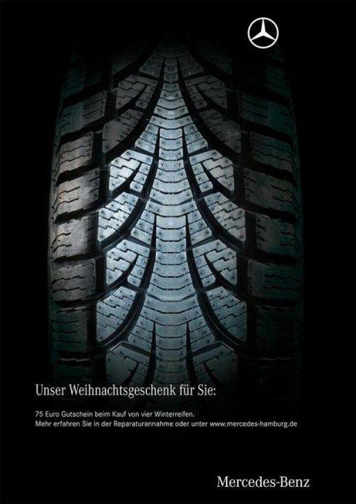 Mercedes Christma Ads