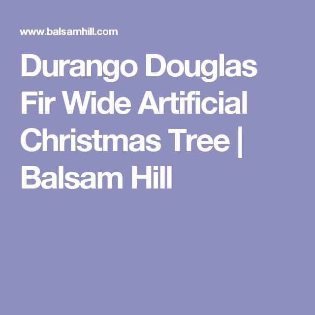 Durango Douglas Fir Wide Artificial Christmas Tree | Balsam Hill